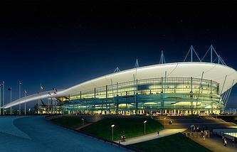 Проект стадиона в Ростове-на-Дону