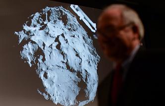 Трансляция в ЕКА посадки модуля Philae на поверхность кометы Чурюмова-Герасименко
