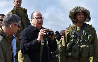 Министр обороны еврейского государства Моше Яалон