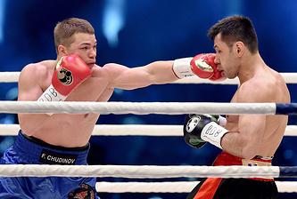 Федор Чудинов (слева)