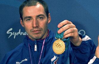 Сергей Шариков на Олимпийских играх в 2000 году