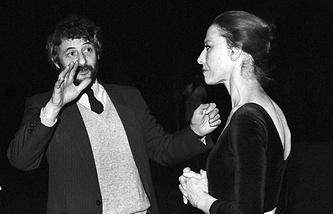 Валерий Левенталь и  Майя Плисецкая, 1985 год