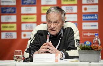 Президент Международной федерации лыжного спорта Жан-Франко Каспер