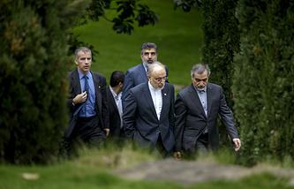 Иранская делегация на переговорах