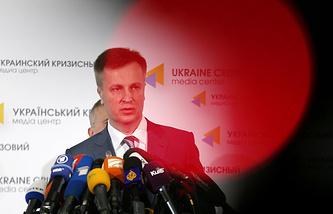 Председатель Службы безопасности Украины Валентин Наливайченко