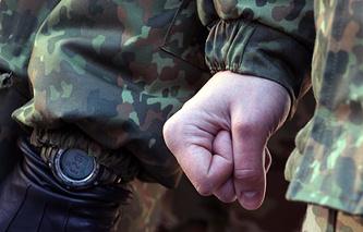 """Отправка группы бойцов батальона специального назначения """"Сечь"""" в зону силовой операции на юго-востоке Украины"""