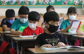 Школа в Южной Корее