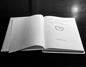 Страница Устава ООН