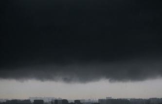 Дождь над Москвой