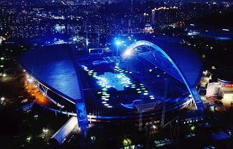 Главный стадион Всемирной летней Универсиады в Кванджу