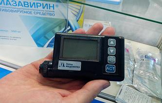 """Инсулиновая помпа, произведенная на заводе """"Медсинтез"""""""