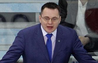 Главный тренер СКА Андрей Назаров
