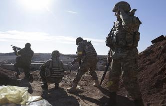 "Бойцы батальона ""Правый сектор"""