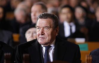 Бывший канцлер ФРГ Герхард Шредер