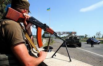 Патрулирование окрестностей Мукачево сотрудниками милиции Украины, 12 июля