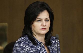 Заместитель министра обороны РФ Татьяна Шевцова
