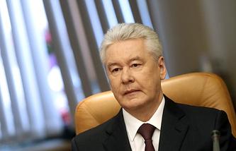 Мэр столицы Сергей Собянин
