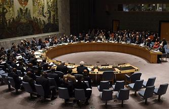 Заседание Совбеза ООН в Нью-Йорке