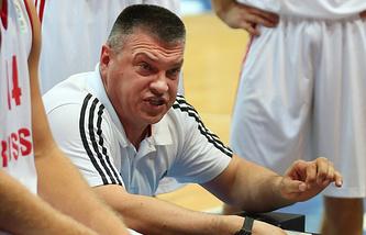 Главный тренер сборной России по баскетболу Евгений Пашутин