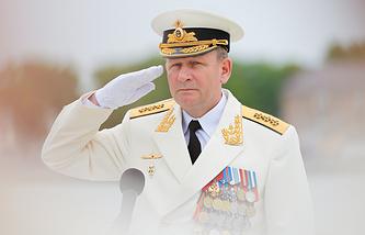 Главнокомандующий ВМФ России Виктор Чирков