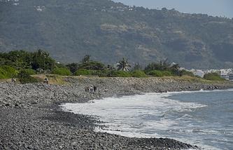 Побережье острова Реюньон