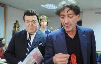 Иосиф Кобзон и Григорий Лепс