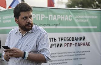 Глава штаба РПР-ПАРНАС Леонид Волков