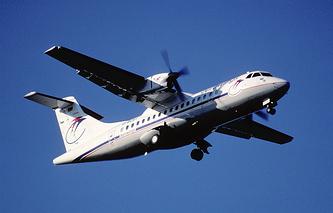 Cамолетом ATR 42-300