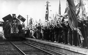 Советские воины в Пхеньяне, 1949 год