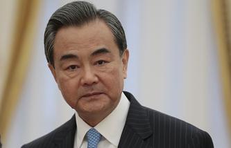 Министр иностранных дел Китая Ван И. Архив