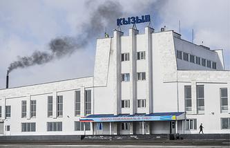 Аэропорт города Кызыл