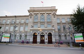 Главный корпус национального исследовательского Томского политехнического университета