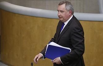 Вице-премьер РФ Дмитрий Рогозин