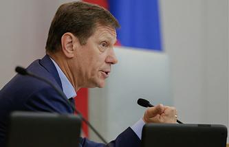 Первый зампредседателя Госдумы Александр Жуков