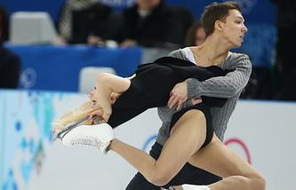 Российские спортсмены Екатерина Боброва и Дмитрий Соловьев
