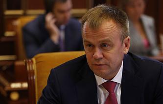 Врио губернатора Иркутской области Сергей Ерощенко