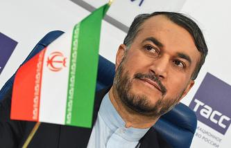 Заместитель министра иностранных дел Ирана Хосейн Амир Абдоллахиан