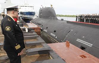 """Подводная лодка класса """"Ясень"""""""