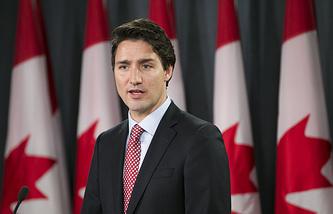 Лидер канадской Либеральной партии и временно исполняющий обязанности премьер-министра страны Джастин Трюдо