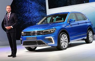 Исполнительный директор автомобильной компании Volkswagen AG Герберт Дисс.