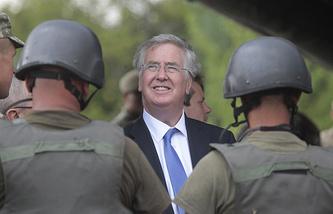 Министр обороны Великобритании Майкл Фэллон