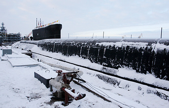 """Подводный ракетный крейсер проекта 955 класса """"Борей"""""""