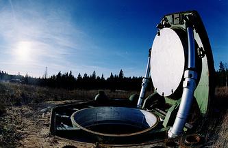 Новгородская область. Пусковая шахта ракетного комплекса, 1995 год