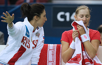 Анастасия Мыскина и Екатерина Макарова