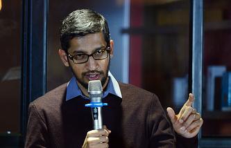 Генеральный директор компании Google Сундар Пичаи