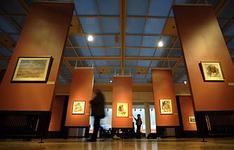 В Инженерном корпусе Третьяковской галереи