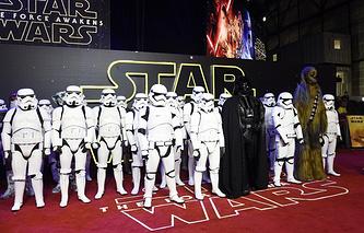 """Премьера фильма """"Звездные войны: Пробуждение силы"""" в Лондоне"""