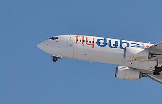 Самолет Boeing авиакомпании Flydubai