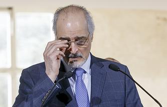 Глава делегации Дамаска на переговорах в Женеве Башар Джаафари