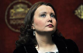 Оперная певица Альбина Шагимуратова